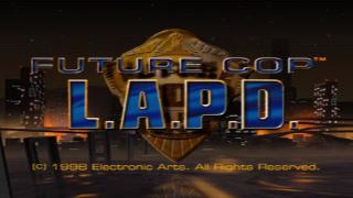 Screenshot Thumbnail / Media File 1 for Future Cop L.A.P.D. [NTSC-U]